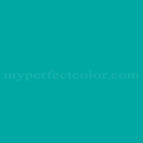 Color Match Of Dulux Turquoise Green