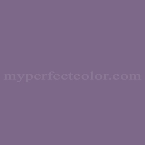 Color Match Of Dulux 221 Royal Purple