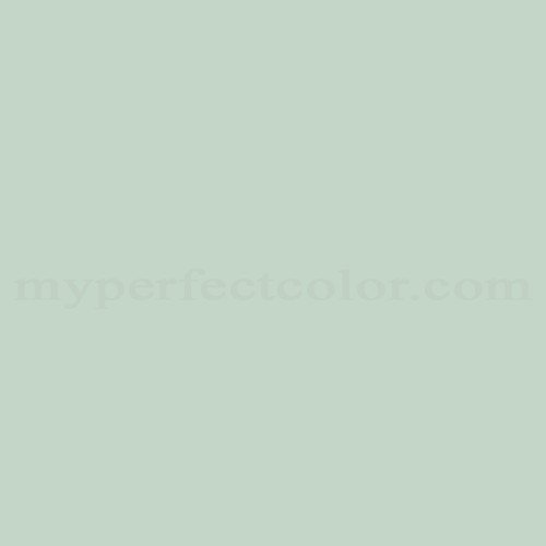 Color Match Of Dulux 368 Muted Mint