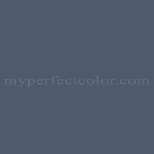 Color Match Of Dulux Blue Heron