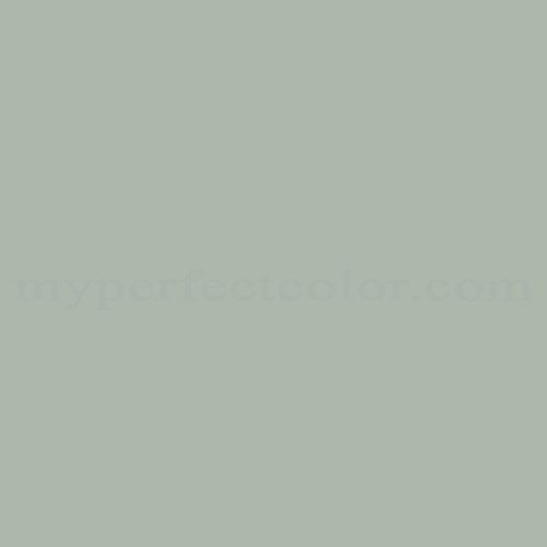 Color Match Of Fuller Obrien F 91 Gray Green