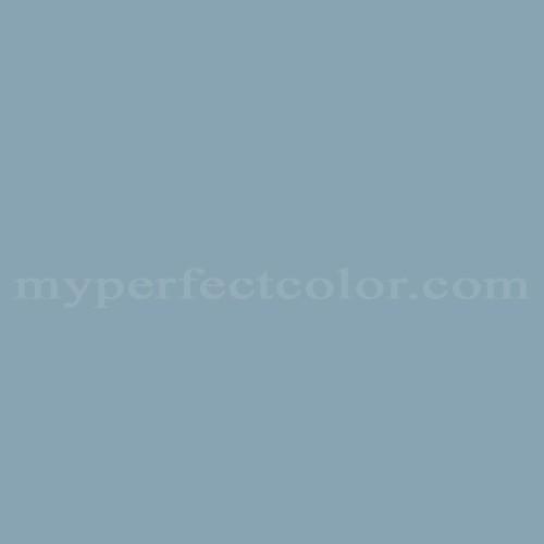 Color Match Of Fuller Obrien D 53 Blue Haze