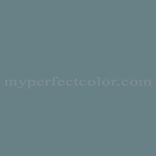 Color Match Of Glidden 68083 Country Blue