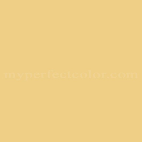 Color Match Of Glidden Victorian Yellow