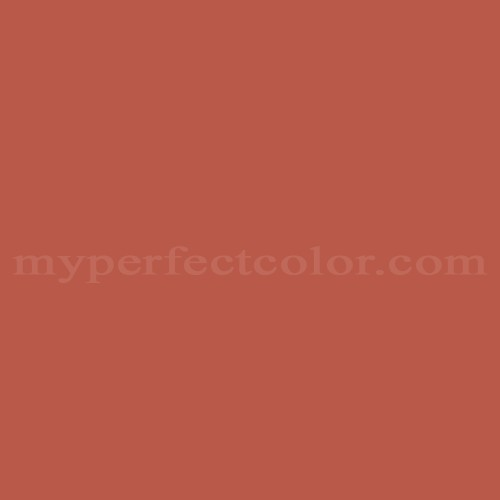 Color Match Of Kelly Moore Ac18 N Russet Red