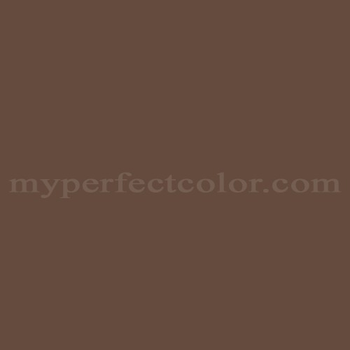 Color Match Of Kelly Moore 200 Saddle Brown
