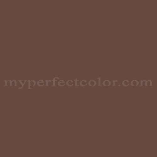 Color Match Of White Knight Paint 5006 Brown Mink