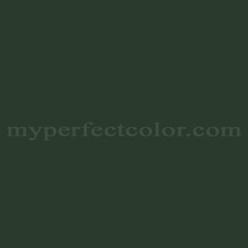 Color Match Of White Knight Paint 5116 Dark Green