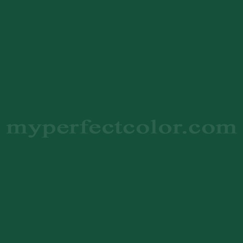 Color Match Of White Knight Paint 1pv Forest Green