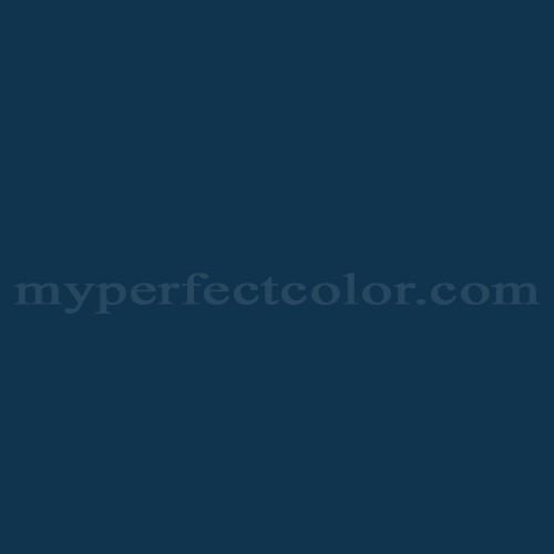 Color Match Of White Knight Paint 5011 Royal Blue