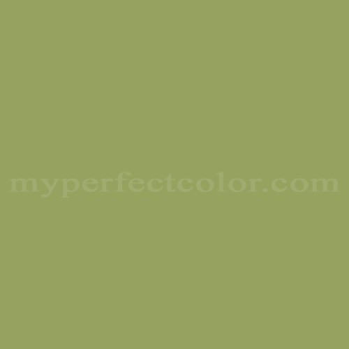 Color Match Of Martin Senour Paints 106 4 Green Leaf