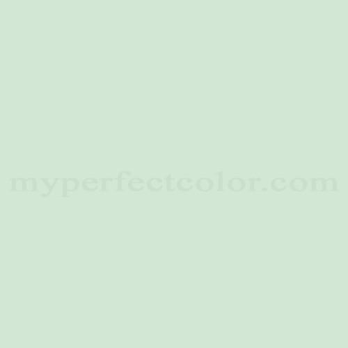 Color Match Of Dulux 382 Soft Mint