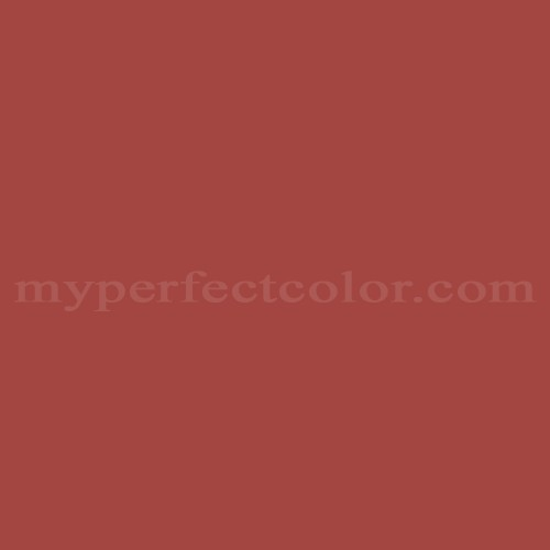 Color Match Of Dulux 04 D 44 Red Brick