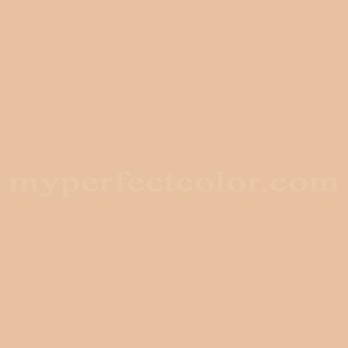 Color Match Of Dulux Peach Nectar