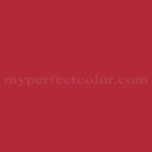 Color Match Of Dulux Cherry Red