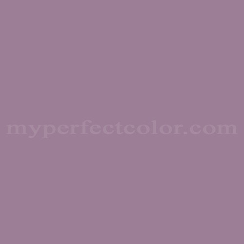 Color Match Of Fuller Obrien C 80 Royal Purple