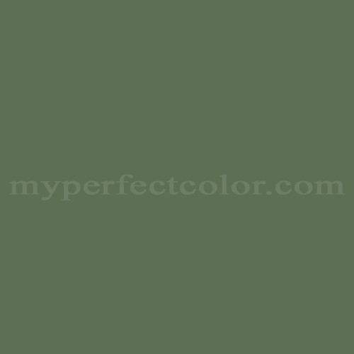 Color Match Of Glidden 43254 Hunter Green