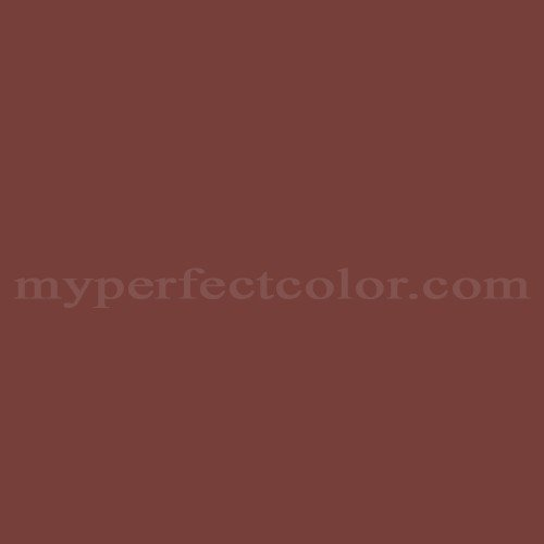 Color Match Of Glidden Colonial Red
