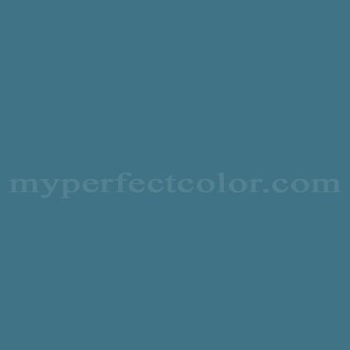 Color Match Of Martin Senour Paints 72 4 Prussian Blue