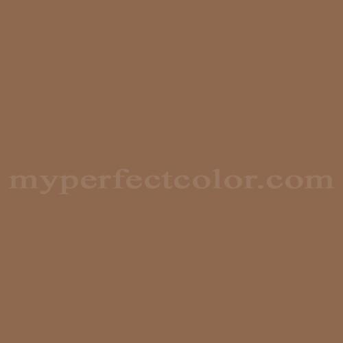 Color Match Of Martin Senour Paints 306 8 Saddle Brown
