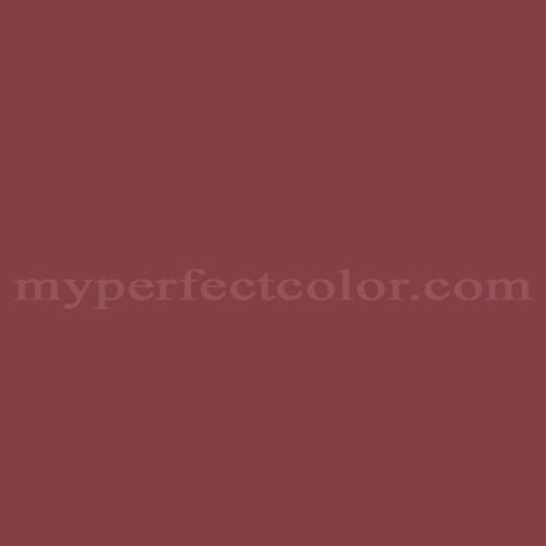 Color Match Of Martin Senour Paints 132 2 Maroon