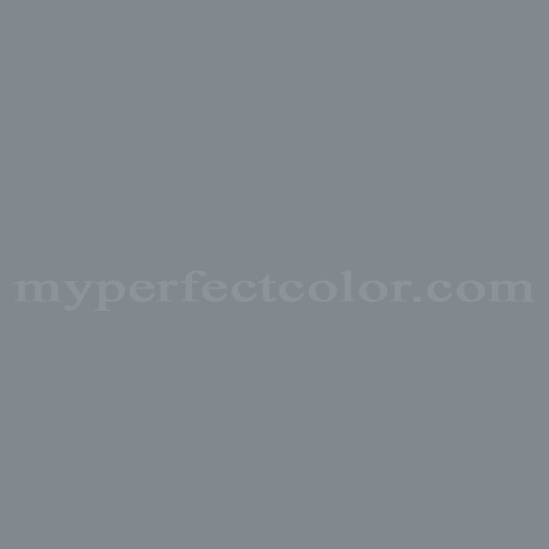 Color Match Of Martin Senour Paints 34 5 Battleship Gray