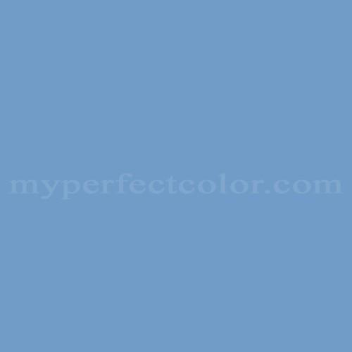 Color Match Of Muralo D784 Swedish Blue