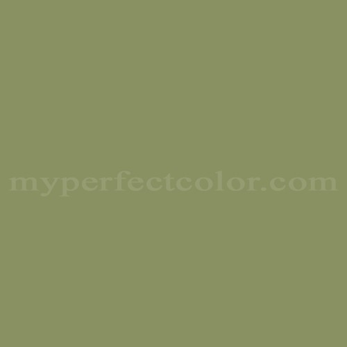 Color Match Of Muralo D1270 Olive Garden