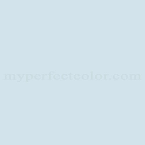 Color Match Of Muralo P417 Blue Haze