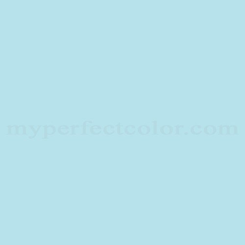 Color Match Of Para Paints B862 4 Baby Blue