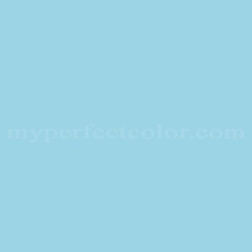 Color Match Of Para Paints B873 1 Iris Blue