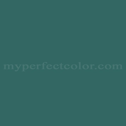 Match of Para Paints™ B790-5 Dark Sea Green *