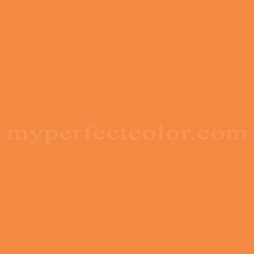 Match of PPG Pittsburgh Paints™ 123-7 Tangerine Dream *