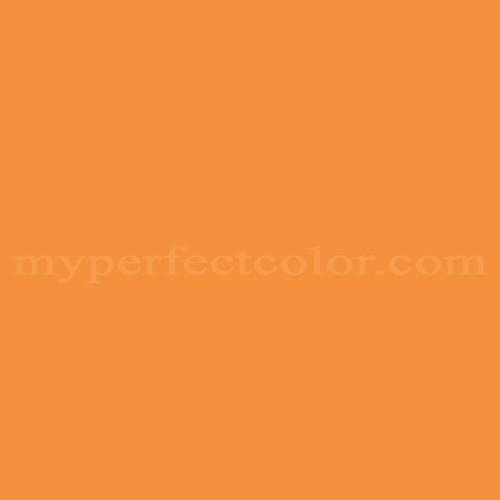 Match of Pittsburgh Paints™ 121-7 Tango Orange *