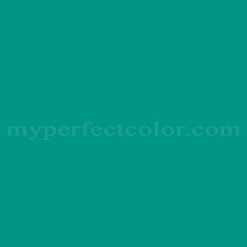 Match of Pittsburgh Paints™ 101-7 Torrid Turquoise *