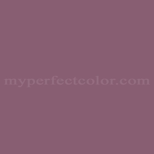 Match of Pittsburgh Paints™ 439-6 Victorian Plum *
