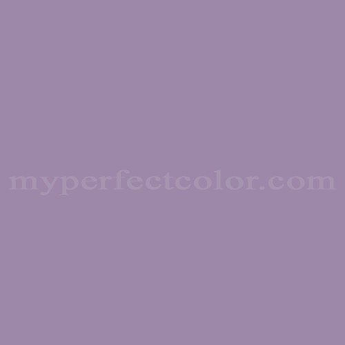 Match of Pittsburgh Paints™ 342-5 Violet Eclipse *