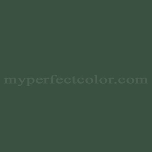 Match of Pittsburgh Paints™ 406-7 Royal Hunter Green *
