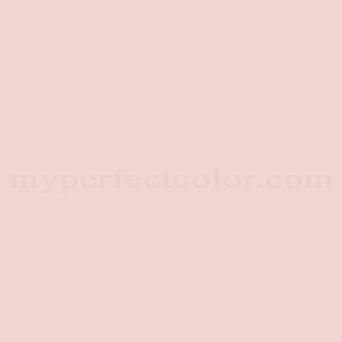 Match of Pittsburgh Paints™ 232-1 Sheer Pink *