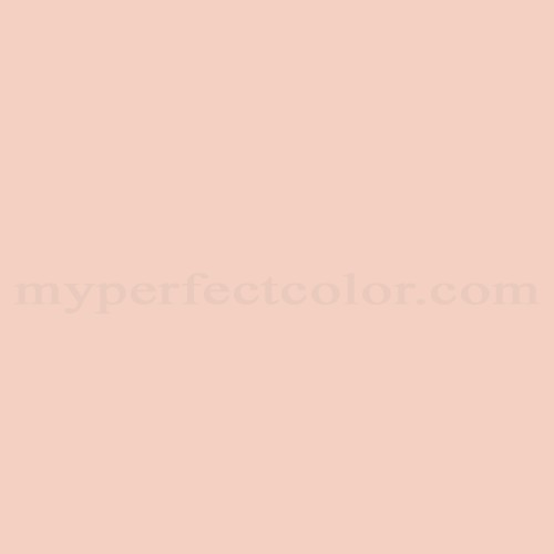 Match of Pittsburgh Paints™ 328-3 Pale Coral *