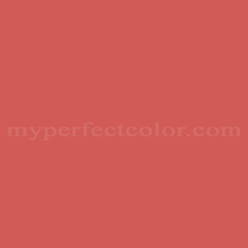 Match of Pittsburgh Paints™ 132-6 Pomegranate *