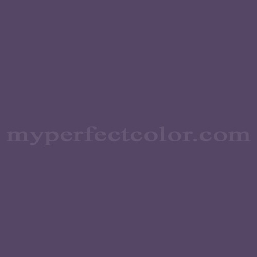 Match of Pittsburgh Paints™ 442-7 Purple Cornflower *