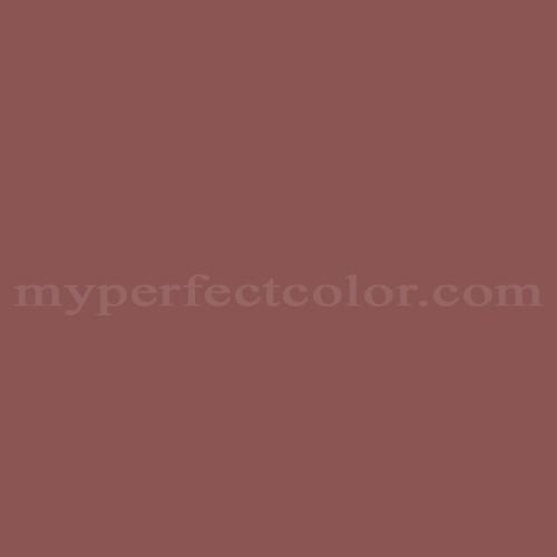 Color Match Of Pittsburgh Paints 433 6 Barn Door