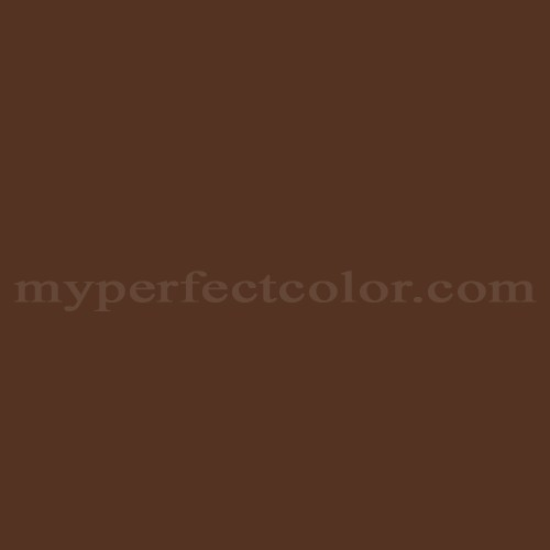 Color Match Of Pittsburgh Paints 7618 Autumn Brown