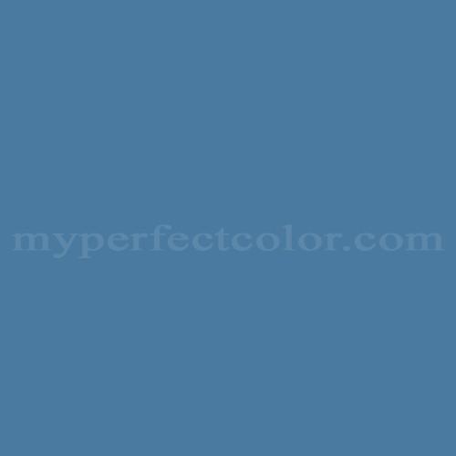 Color Match Of Pratt And Lambert 1205 Swedish Blue