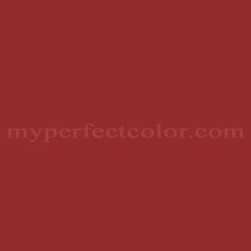 Color Match Of Pratt And Lambert 1013 Vintage Claret