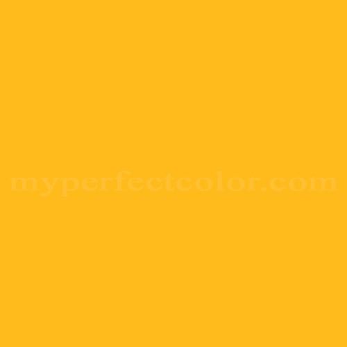 Color Match Of Pratt And Lambert 1750 Canary Yellow