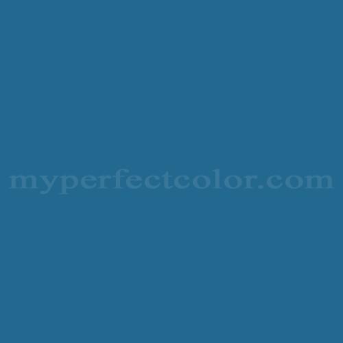 Color Match Of Pratt And Lambert 1220 Celtic Blue
