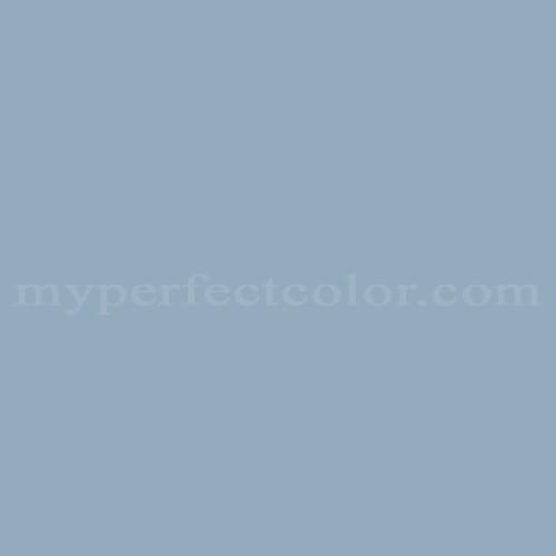 Color Match Of Pratt And Lambert 1282 Cerulean Haze