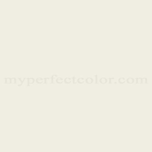 Color Match Of Porter Paints 6943 1 White Mist